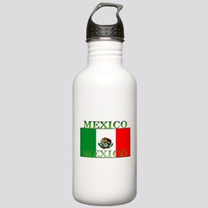 Mexico Mexican Flag Stainless Water Bottle 1.0L