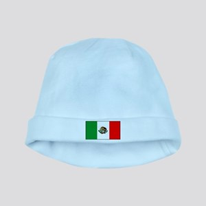 Mexico Mexican Blank Flag baby hat