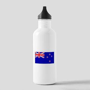 New Zealander Blank Flag Stainless Water Bottle 1.