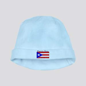 Puerto Rico Rican Flag baby hat