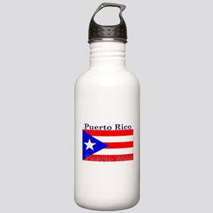 Puerto Rico Rican Flag Stainless Water Bottle 1.0L