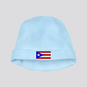 Puerto Rico Blank Flag baby hat