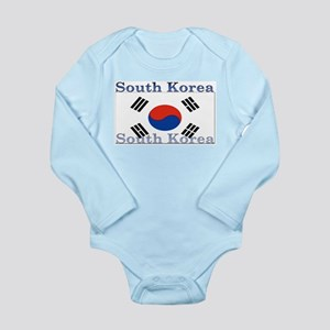 South Korea Long Sleeve Infant Bodysuit