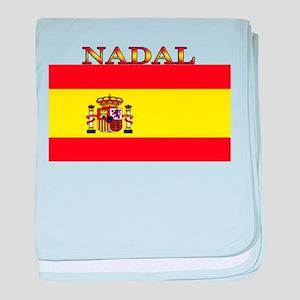 Nadal Spain Spanish Flag baby blanket