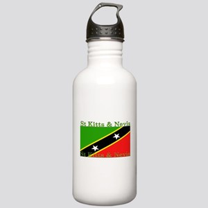 St Kitts & Nevis Stainless Water Bottle 1.0L