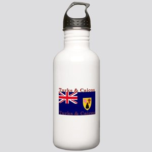 Turks & Caicos Stainless Water Bottle 1.0L