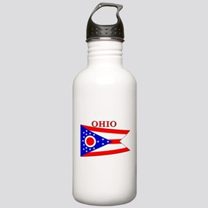 Ohio State Flag Stainless Water Bottle 1.0L
