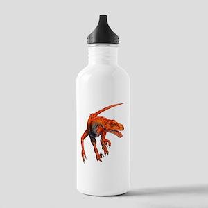 Velociraptor Raptor Dinosaur Stainless Water Bottl