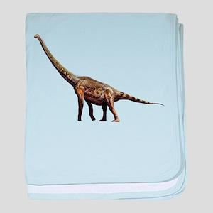 Brachiosaurus Jurassic Dinosa baby blanket