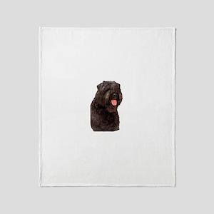 Bouvier Des Flandres Dog Throw Blanket