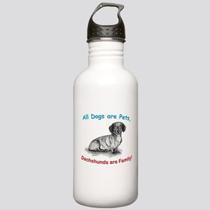 Dachshund Dachshunds Family Stainless Water Bottle