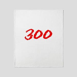 300 Spartans Sparta Throw Blanket