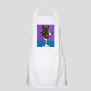 Black French Bulldog BBQ Apron