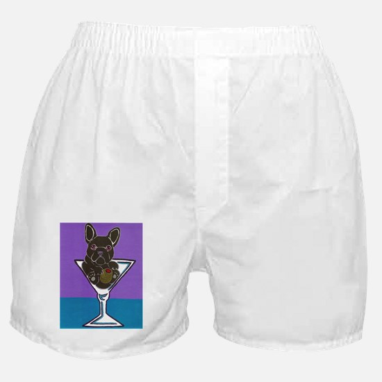 Black French Bulldog Boxer Shorts