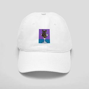 Black French Bulldog Cap