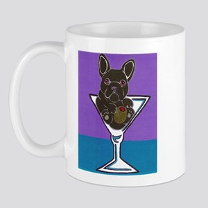 Black French Bulldog Mug