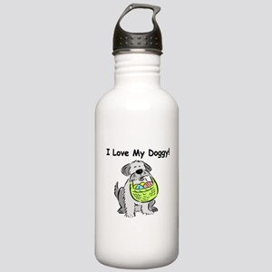 Happy Easter Dog Doggy Stainless Water Bottle 1.0L