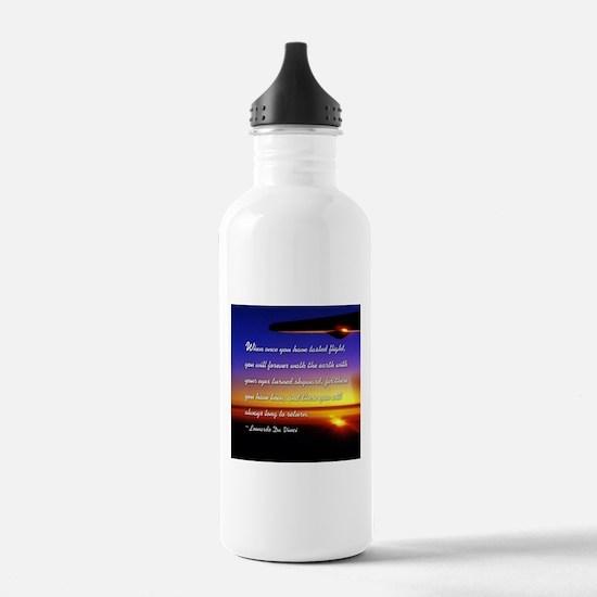 Cute Aviation Water Bottle