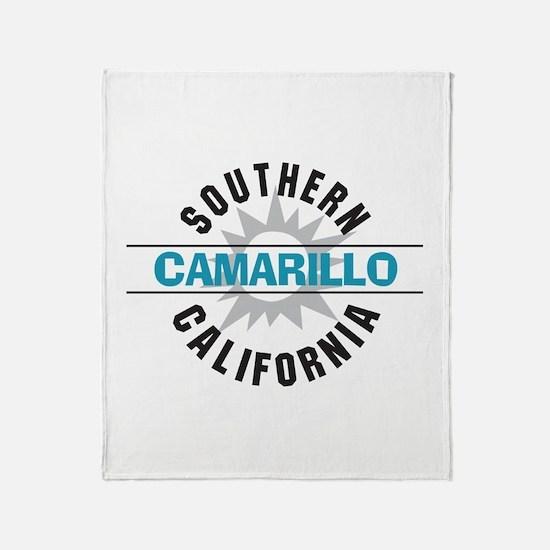 Camarillo California Throw Blanket