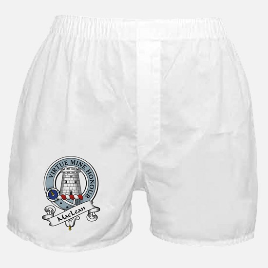 MacLean Clan Badge Boxer Shorts