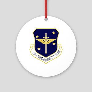 19th Bomb Wing Ornament (Round)