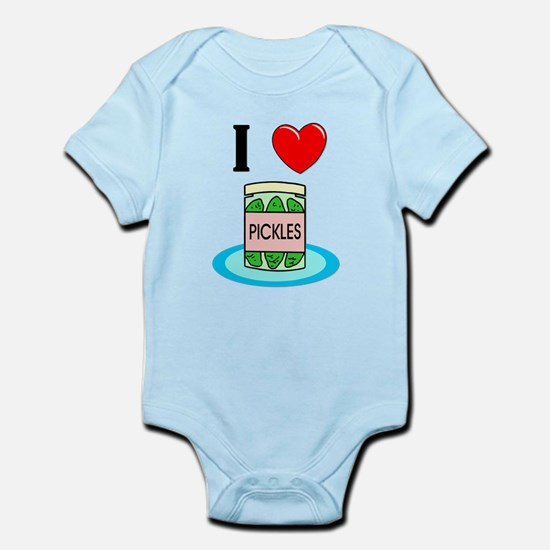 I Love Pickles Infant Bodysuit