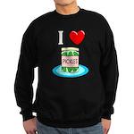 I Love Pickles Sweatshirt (dark)