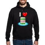 I Love Pickles Hoodie (dark)