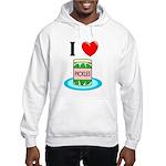 I Love Pickles Hooded Sweatshirt