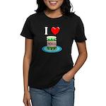 I Love Pickles Women's Dark T-Shirt