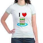 I Love Pickles Jr. Ringer T-Shirt