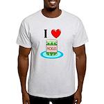 I Love Pickles Light T-Shirt