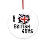 Brits Ornament (Round)