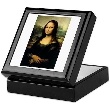 The Mona Lisa by Da Vinci Keepsake Box