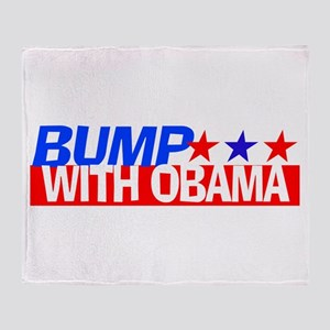Bump With Obama Throw Blanket