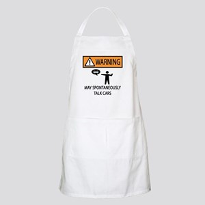 Car Talk Warning Apron