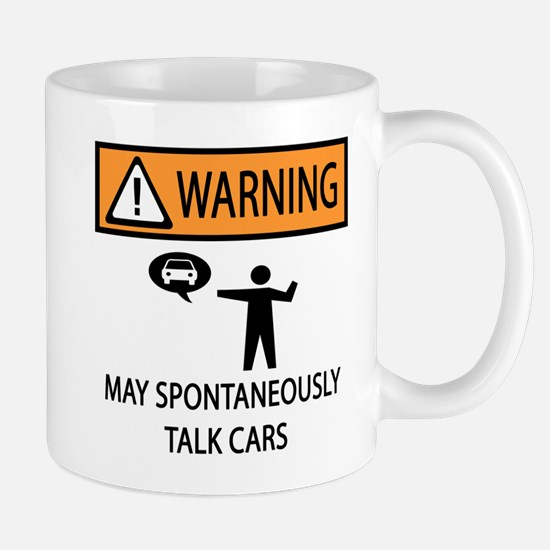 Car Talk Warning Mug