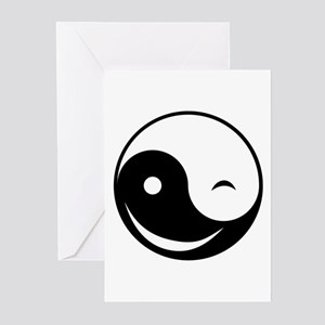 Winky Yin Yang Greeting Cards (Pk of 10)