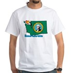 ILY Washington White T-Shirt