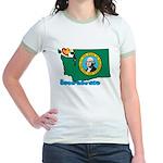 ILY Washington Jr. Ringer T-Shirt