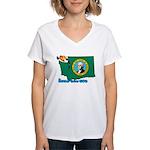 ILY Washington Women's V-Neck T-Shirt