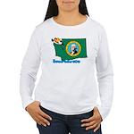 ILY Washington Women's Long Sleeve T-Shirt