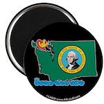ILY Washington Magnet