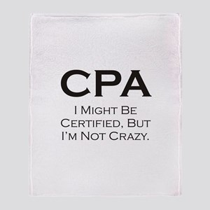 CPA #3 Throw Blanket