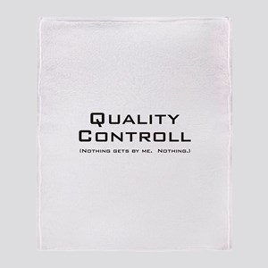 Q Controll Throw Blanket