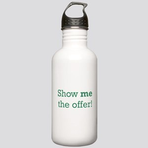 Show me the Offer Stainless Water Bottle 1.0L