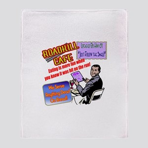 Restaurant Roadkill Throw Blanket