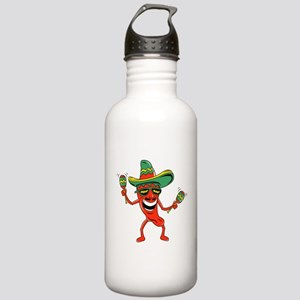 Hot Mexican Pepper Stainless Water Bottle 1.0L