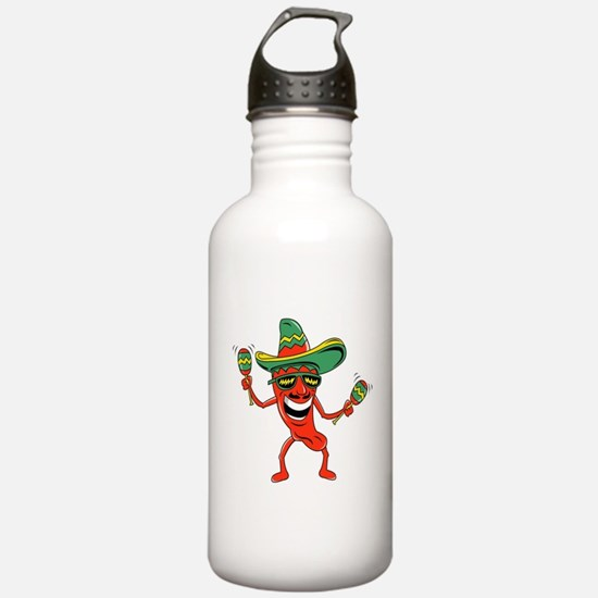 Hot Mexican Pepper Water Bottle