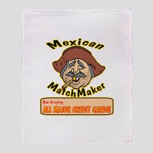 Mexican Matchmaker Throw Blanket